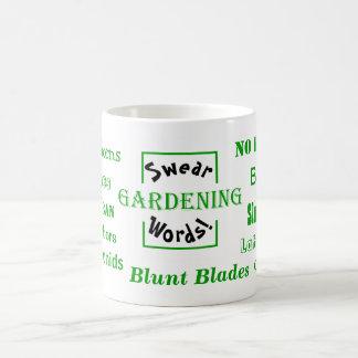 Gardening Swear Words! Rude Gardening Mug