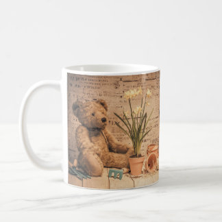 Gardening Teddy Bear Birthday or Other Gift Mug