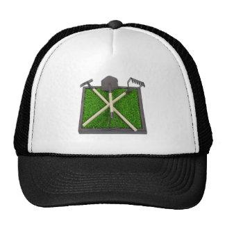 GardeningToolsOnRaisedGrassBed112611 Mesh Hats