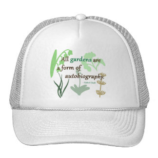 Gardens are an Autobiography Mesh Hats