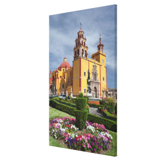 Gardens Before The Basilica Canvas Print