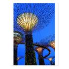 Gardens by the Bay Singapore environmental Postcard