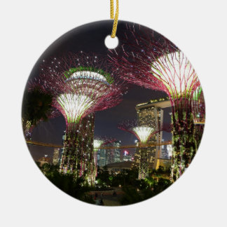 Gardens by the Bay Singapore Supertree Grove Christmas Ornament