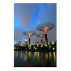 Gardens by the Bay Singapore Supertree Grove Postcard