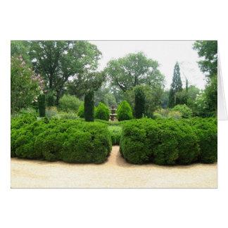 gardens note card
