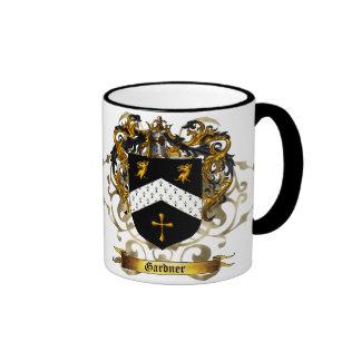 Gardner Shield / Coat of Arms Coffee Mugs