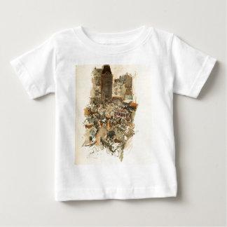 Gare Saint-Lazare Paris 1910 Baby T-Shirt