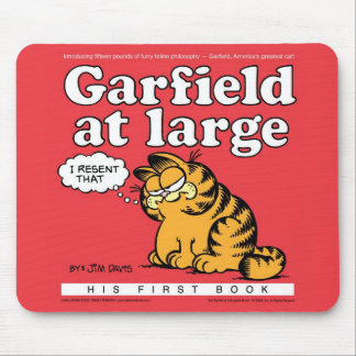 Garfield At Large Mousepad