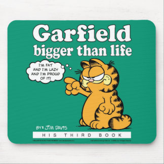Garfield Bigger Than Life Mousepad