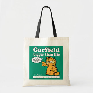 Garfield Bigger Than Life Tote Bag