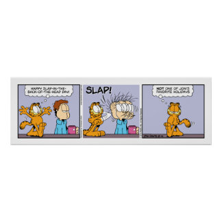 Garfield Comic Strip Poster