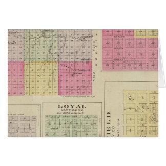 Garfield County, Creola, Ravanna, Loyal, Kansas Card