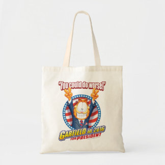 Garfield For President in 2016 Budget Tote Bag