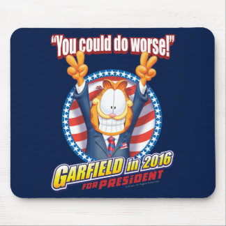 Garfield For President in 2016 Mouse Mat