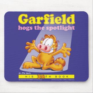 Garfield Hogs The Spotlight Mousepad