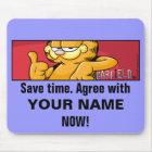 Garfield Logobox Agree Mousepad