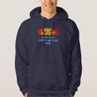 Garfield Logobox Agree With Me Hoodie