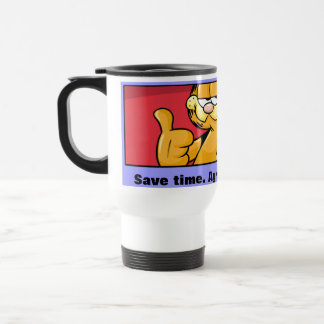Garfield Logobox Agree With Me Travel Mug