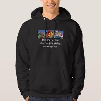 Garfield Logobox Holiday Presents Adult Hoodie