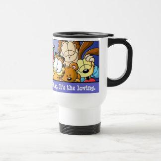 Garfield Logobox Loving Holidays Travel Mug