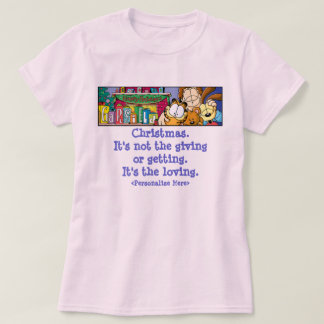 Garfield Logobox Loving Holidays Women's T-Shirt