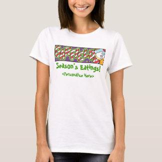 Garfield Logobox Season's Eatings Women's T-Shirt