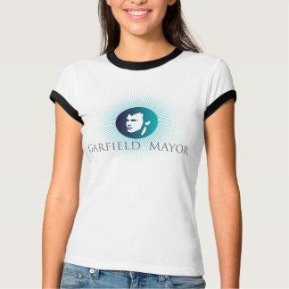 "Garfield Mayor ""Arctic Sun"" Ladies Blue T-Shirt"