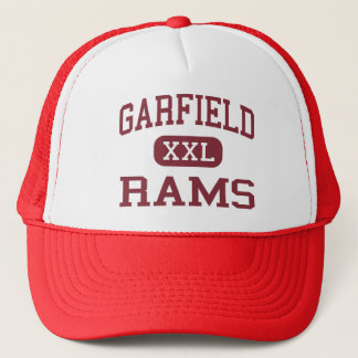 Garfield - Rams - High School - Akron Ohio Trucker Hat