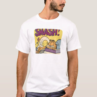 Garfield Smashing His Clock, men's shirt