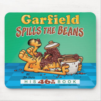 Garfield Spills The Beans Mousepad