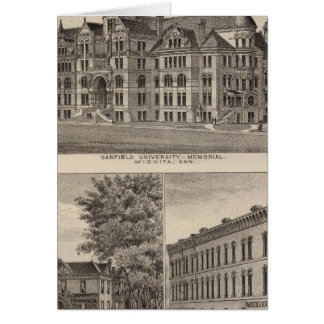 Garfield University, Kansas Cards