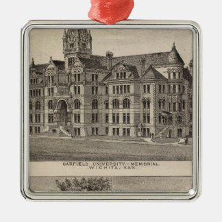 Garfield University, Kansas Christmas Ornament