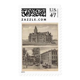 Garfield University, Kansas Postage Stamp