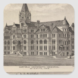 Garfield University, Kansas Square Sticker