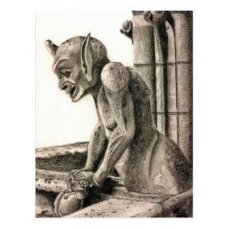 Gargoyle 2 postcard