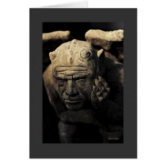 Gargoyle Art Photography colour template Cards