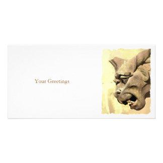 GARGOYLE CUSTOMISED PHOTO CARD