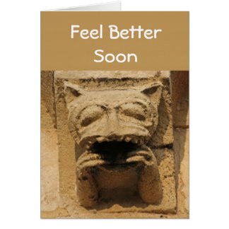 Gargoyle feel-better card