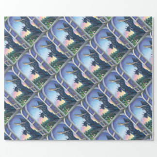 Gargoyle Guardian Wrapping Paper