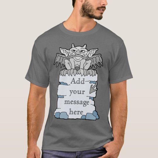 Gargoyle Message T-Shirt