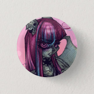 Gargoyle Monster Girl Pin