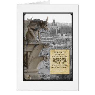 Gargoyle of Notre Dame Card