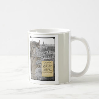 Gargoyle of with quote Hunchback of Notre Dame Coffee Mug