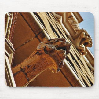 Gargoyles Near The Grand Central Market In Los Ang Mouse Pad