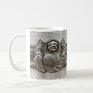 Gargoyles on ledge mug