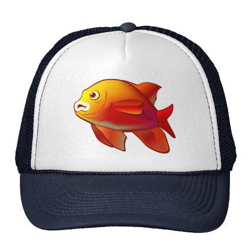Garibaldi Fish Mesh Hat