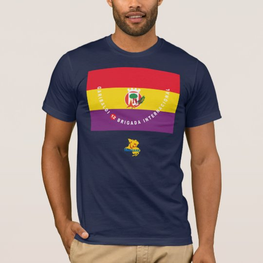 Garibaldi International Brigade Flag T-Shirt