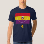 Garibaldi International Brigade Flag Tshirt