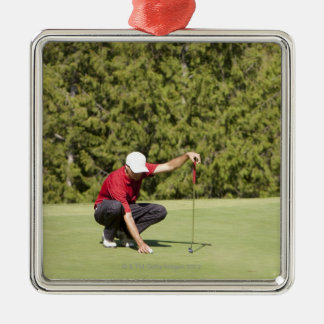 Garibaldi Springs Golf Course, Squamish, B.C. Silver-Colored Square Decoration
