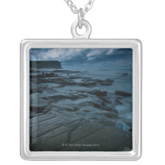 Garie Beach in the Royal National Park 2 Silver Plated Necklace